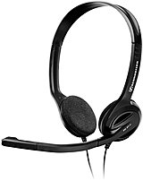 The Sennheiser 504522 PC 31 II Headset lets you enjoy music, movies and games in superb stereo quality