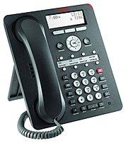 Avaya 700469851 1408 Digital Deskphone Digital Phone LCD Monochrome Display Black