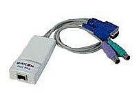 C2G Minicom 0SU51023 RIC RIC I F PS 2 Cable 1 x RJ 45 Female 1 x 15 pin HD D Sub HD 15 Male 2 x 6 Pin Mini DIN PS 2 Style Male Off White