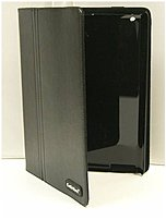 CellAllure CAPOJ1-0702 Snap-On Case with Stand for Apple iPad II - Black