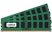Crucial CT3CP12872BA1067 3 GB Memory Module - PC3-8500 - DDR3 SDRAM - DIMM - Unbuffered - ECC