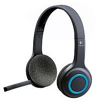 Logitech 981-000341 H600 Wireless Headset - Binaural - Blue, Black