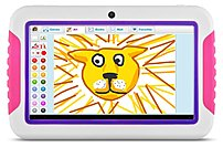 Ematic FunTab FTABCP-2 Tablet PC - A8 1.2 GHz Processor - 512 MB RAM - 4 GB Flash Memory - 7.0-inch Multi Touch Display - Android 4.0 (Ice Cream Sandwich) - Pink