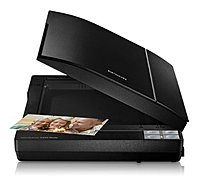 Epson Perfection V370 Flatbed Photo Scanner with Built-In Transparency Unit Black B11B207221