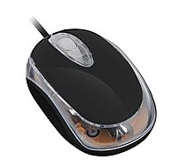 Wintec FileMate Imagine Series 3FMNM1210UBK-R M1210 Wired Mini Mouse - Optical - Black