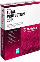 McAfee Security MTP13EAM3RAA Total Protection 2013 - 3 Pieces - CD-ROM