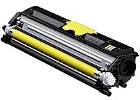 Konica Minolta A0V306F High Capacity Toner Cartridge for Magicolor 1600, 1650EN, 1680MF Printers - Laser - 2500 Pages - Yellow