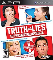 The THQ 752919991565 Truth or Lies is set for release this fall, players join family and friends in a roundtable style game play answering an astonishing array of thought provoking questions