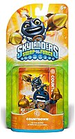 Skylanders SWAP Force Character Pack Countdown  was discovered by a group of Yetis who were snowboarding one particularly chilly morning when they came across a big bomb encased in ice