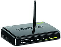 TRENDnet TEW-711BR 150 Mbps Wireless N Home Router - Desktop - 2.4 GHz