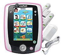 LeapFrog LeapPad2 708431332751 33275 Power Learning Tablet for 3-9 Years - 550 MHz - 4 GB Memory - 5.0-inch Display - Pink