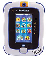 VTech InnoTab 3 80-157800 Learning Application Tablet for 3-9 Years - 2 GB Memory - 4.3-inch Display - 2.0 Megapixels Camera - Blue