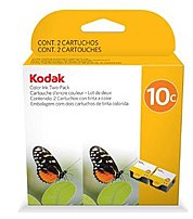 The Kodak 1829993 10C Color Inkjet Cartridge offers you both vibrancy and longevity to produce and preserve high quality text pages and photos