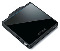 Buffalo BRXL-PC6U2B MediaStation BDXL Portable Blu-Ray Writer - Hi-Speed USB BRXL-PC6U2B