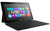 Microsoft Surface RT 9HR-00001 32 GB Tablet PC with Black Touch Cover - nVIDIA Tegra 3 Quad-Core Processor - 2 GB RAM - 10.6-inch Display - Windows RT - Dark titanium