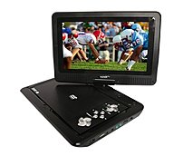 Azend Maxmade MDP 1008 10 inch Portable High resolution DVD Player with Swivel Screen 1024 x 600 USB