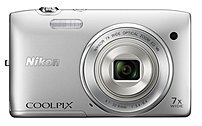 Nikon Refurbished  Coolpix 26361 S3500 20.1 Megapixels Digital Camera - 7x Optical/ at Sears.com