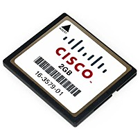 Image of Cisco MEM-CF-2GB 2 GB CompactFlash Card for 1900, 2900, 3900 Integrated Services Routers