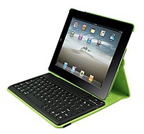 2Cool 2C-RTCK03-LM Duo-View Bluetooth Keyboard Case for Apple iPad - Lime