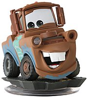 The Disney Infinity 712725023799 02379 Figure Mater might be a bit rusty, but he's also got power under his hood