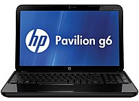 HP Pavilion C9G65UA G6-2225nr Notebook PC - AMD A4-4300M 2.5 GHz Dual-Core Processor - 4 GB DDR3 SDRAM - 320 GB Hard Drive - 15.6-inch Display - Windows 8 64-bit - Black