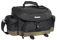 Canon 6231A001 10EG Deluxe Gadget Bag for DSLR Camera - Black/Green