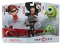 Disney Infinity, the cool new video game, will be infinitely improved with this 3 piece Sidekicks Figure Set