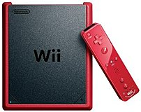 Nintendo Rvosraac Wii Mini With Mario Kart For Wii - Red