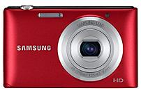 Samsung EC-ST72ZZBPRUS ST72 16.2 Megapixels Digital Camera - 5x Optical/5x Digital Zoom - 3-inch LCD Display - 4.5-22.5 mm Lens - Red