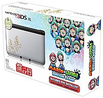 Nintendo SPRSVMDR 3DS XL Game Console with Mario and Luigi Dream Team Limited Edition - 802.11b/g - Silver