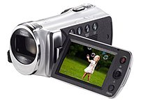 Samsung HMX Series HMX-F900WN 5.0 Megapixels DVR Camcorder - 52x Optical/130x Digital Zoom - 2.7-inch LCD Display - USB 2.0 - White