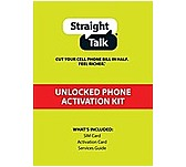 click for Full Info on this Straight Talk ST64PSIMT5B Standard SIM Card for T Mobile Compatible GSM Phones
