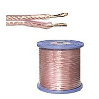 C2G 757120272939 27293 100 Feet 16 AWG Bulk Copper Speaker Cable - Bare Wire/Bare Wire - Clear