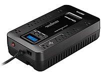 CyberPower Ecologic 850VA/510W Energy Efficient LCD Desktop ECO UPS Black EC850LCD