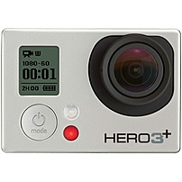GoPro HERO3+ CHDHN-302 Digital Camcorder - Full HD - Silver - 16:9 - H.264, MP4 - Full HD - Microphone - HDMI - USB - microSD Card - Memory Card