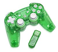 Pdp Rock Candy Pl-6432gr Wireless Controller For Playstation 3 - Green
