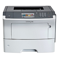 Lexmark 35S0500 MS610DE Laser Printer - Monochrome - 1200 x 1200 dpi Print - Plain Paper Print - Desktop - 50 ppm Mono Print - 650 sheets Input - Automatic Duplex Print - Gigabit Ethernet - USB