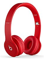 Beats By Dr Dre SOLO HD 900 00156 01 On Ear Headphones Binaural Stereo Matte Red