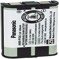 Panasonic Hhr-p104a/1b Cordless Telephone Battery For Kx Fg6550, Fpg378 Phones - Ni-mh Laaa - 3.6 V - 830 Mah