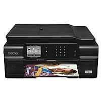 Brother Work Smart MFC-J870DW Inkjet Multifunction Printer - Color - Plain Paper Print - Desktop - Copier/Fax/Printer/Scanner - 33 ppm Mono/27 ppm Color Print - 12 ppm Mono/10 ppm Color Print (ISO) - 1200 x 6000 dpi Print - 6 ipm Mono/6 ipm Color Copy (IS