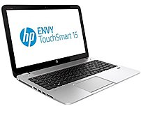 HP Envy TouchSmart E0M27UA 15-j009wm Notebook PC - AMD A series A8-5550M 2.1 GHz Quad-Core Processor - 8 GB RAM - 750 GB Hard Drive - 15.6-inch Touchscreen Display - Windows 8 64-bit Edition - Natural Silver