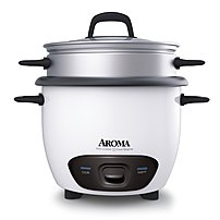 Aroma ARC 747 1NG Rice Cooker 14 Cup White