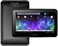 Visual Land Prestige 7 ME-107-8GB-BLK Tablet PC - ARM Cortex-A8 1.2 GHz Processor - 512 MB RAM - 8 GB Storage - 7-inch Multi-Touch Display - Android 4.0 - Black
