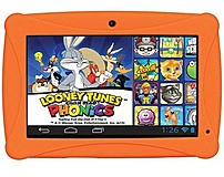 The HKC Click n Kids CKCKP774 OR Tablet PC preloaded with Looney Tunes Phonics