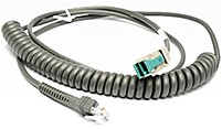 Honeywell CBL 503 300 C00 USB Coiled Cable USB 9.84 ft Type A USB Black