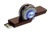 Blue Microphones 836213001998 TIKI Dual-Mode Compact USB Recorder Microphone - Plug-in