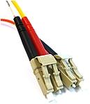 BlackBox FOCMR10-020M-LCLC-AQ Patch cable - 66 Feet - Multimode - 62.5 / 125 Micron - Orange