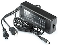HP 609941-001 120 Watts AC Adapter for HP Compaq Laptops - 18.5V DC - 6.5 A - Black