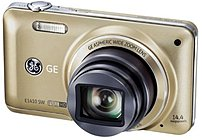 GE E1410SW-CP 14.4 Megapixels Digital Camera - 10x Optical/6x Digital Zoom - 3.0-inch LCD Display - 28 mm Wide Angle Lens - Champagne