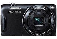 Fujifilm FinePix FX-T555WMB-US T555 16 Megapixel Digital Camera - 12x Optical Zoom ...